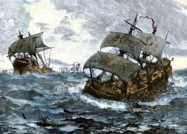 西班牙无敌舰队征英失败告终