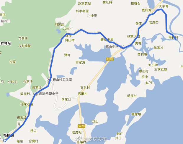 安庆杨桥—梅林公交线路15日开通