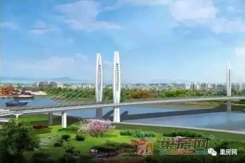 巢湖亚父路大桥开工在即,这些楼盘即将受益