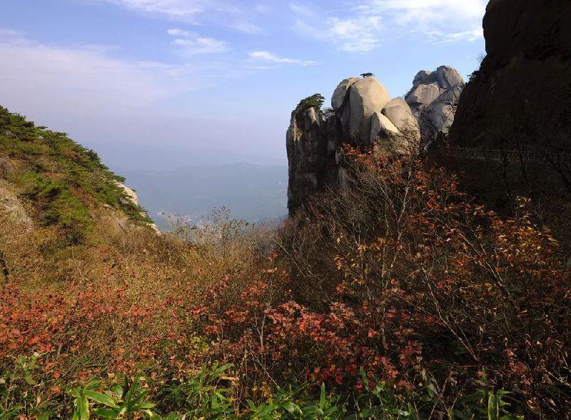最新去天柱山主峰景区路线一览