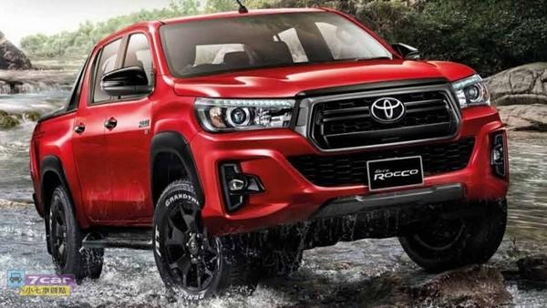 新增 Rocco 车型,2018 年式 Toyota Hilux Revo 泰国发表