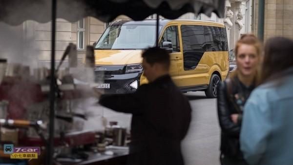 纯电距离300公里 福斯旗下MOIA发表纯电动概念厢型车