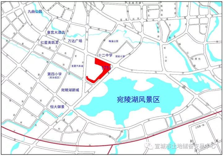 宣城宛陵湖畔将建超100米高层!附近还将有五星级酒店!