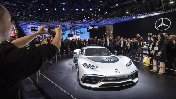 """奔驰带头表示不玩了 2019年底特律车展将面临""""无车可展""""窘境(图/翻摄自奔驰)"""