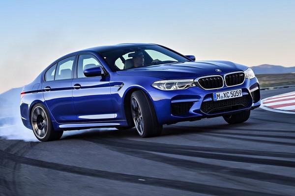 ▲600匹M5压阵、未上市X2搞神秘!BMW公布车展阵容。(图/翻摄自BMW)