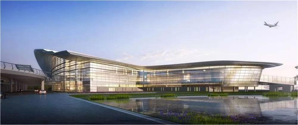 效果图曝光!阜阳机场扩建工程下月开标!新建2.76万平方米航站楼!