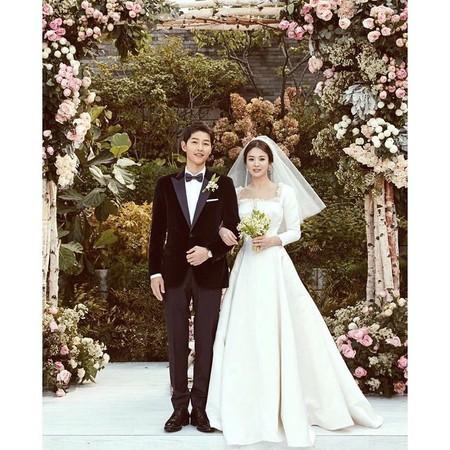 ▲宋仲基、宋慧乔目前已申请离婚。(图/翻摄自Instagram/kyo1122)
