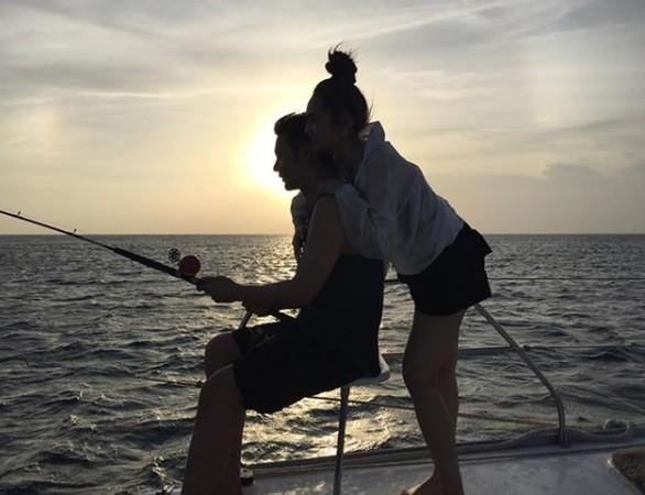 ▲李荣浩欢度34岁生日,与杨丞琳展现4天3夜小旅行。(图/翻摄自杨丞琳Instagram)