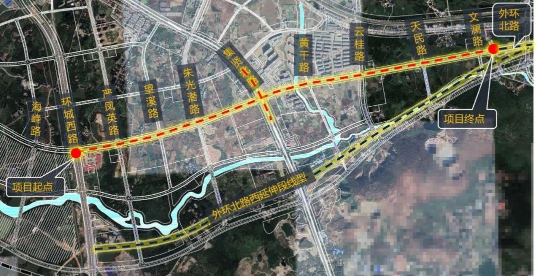 安庆又一双向八车道!宜秀大道(环城西路-外环北路)改造工程规划方案出炉